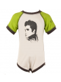 Elvis body baby rock metal Green/White