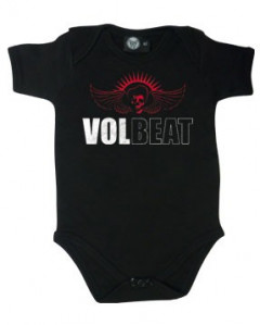 Volbeat body baby rock metal Skull Wing