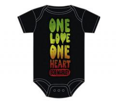 Bob Marley body baby rock metal One Love One Heart