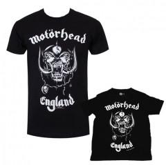 Duo Rockset Motörhead Vater-T-shirt & Kinder-T-shirt