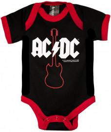 AC DC Strampler body baby rock metal Gibson
