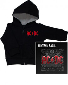 ACDC Black Ice baby Sweater/Kapuzenjacke (hoodie) Metal-Baby