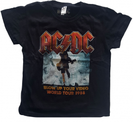 ACDC Kids T-Shirt Blow Up Your Video