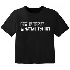 Metal Kinder Tshirt my first Metal T-Shirt