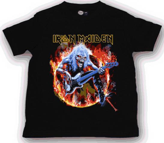 Iron Maiden Kinder T-shirt FLF