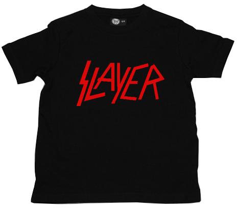 Slayer Kinder T-Shirt Logo Red