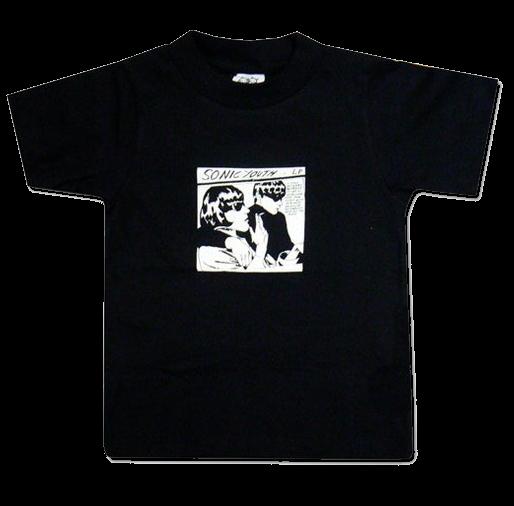 Sonic Youth Kinder T-shirt Black Goo