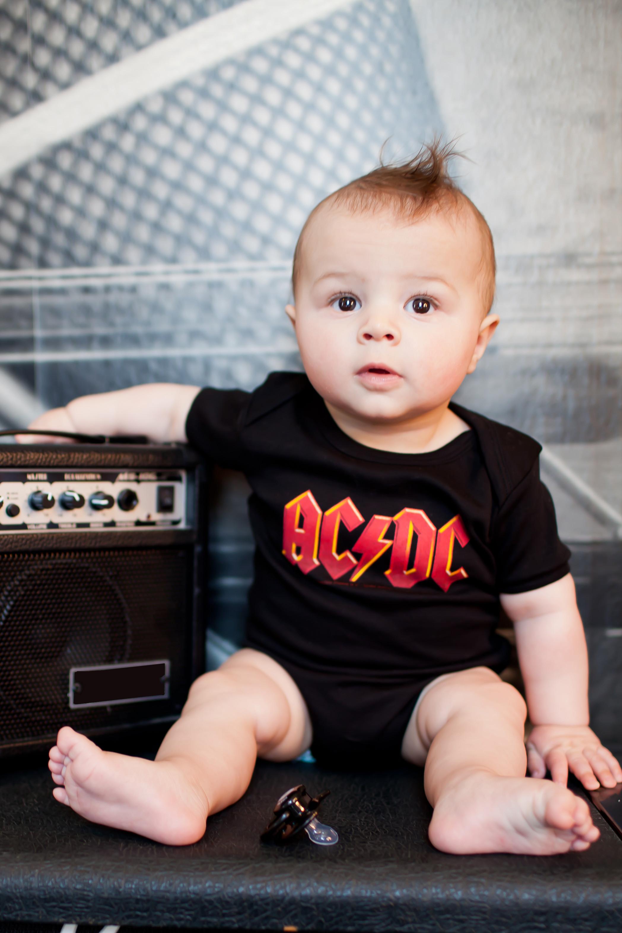 ACDC Baby Body | AC DC Babykleidung