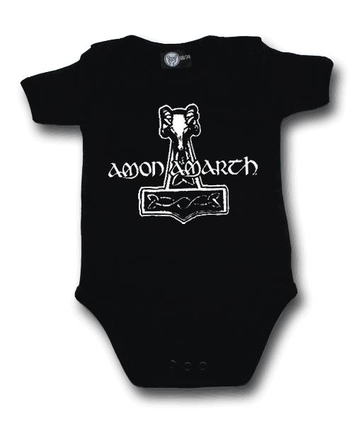 Amon Amarth body baby rock metal Hammer of Thor Amon Amarth