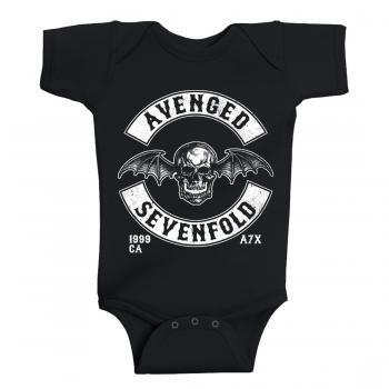 Avenged Sevenfold Baby Body Deathbat Est 1999