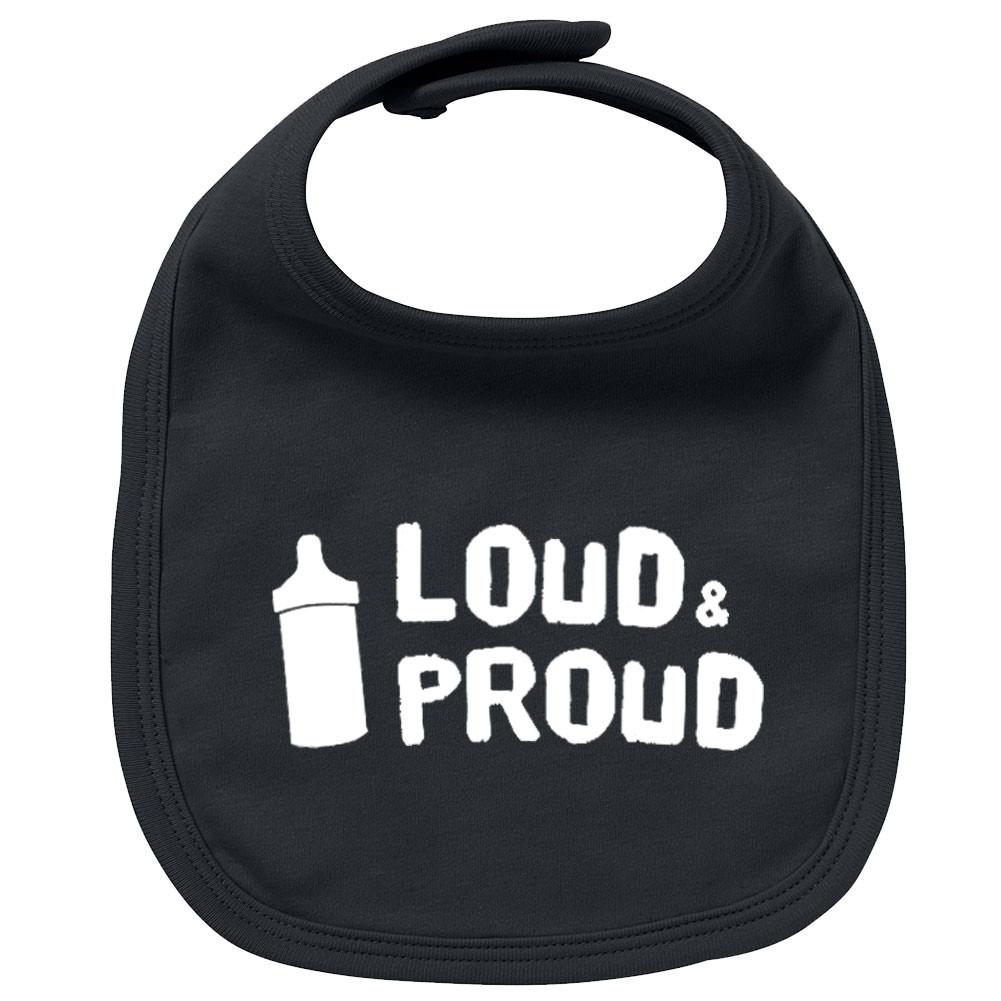 Rock Baby Lätzchen loud & proud