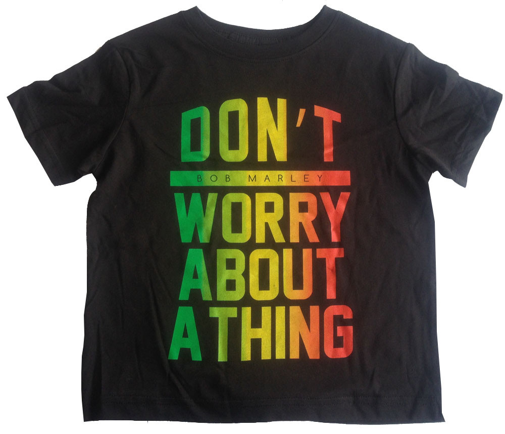 Bob Marley Kinder T-shirt Don't Worry About A Thing