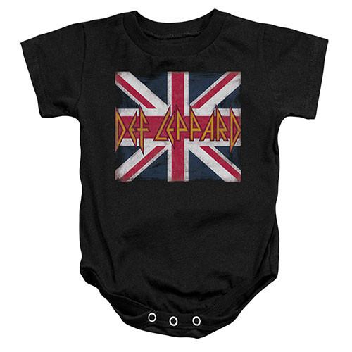 Def Leppard body baby rock metal Lil Union Jack