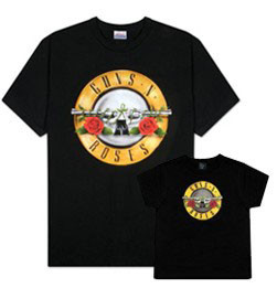 Duo Rockset Guns 'n Roses Vater-T-shirt & Baby-T-shirt