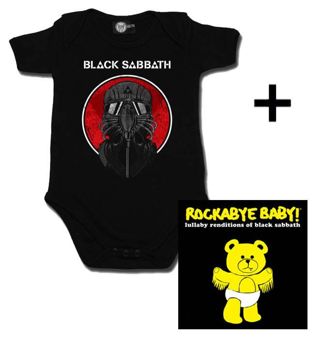 Black Sabbath body baby rock metal 2014 & Black Sabbath CD