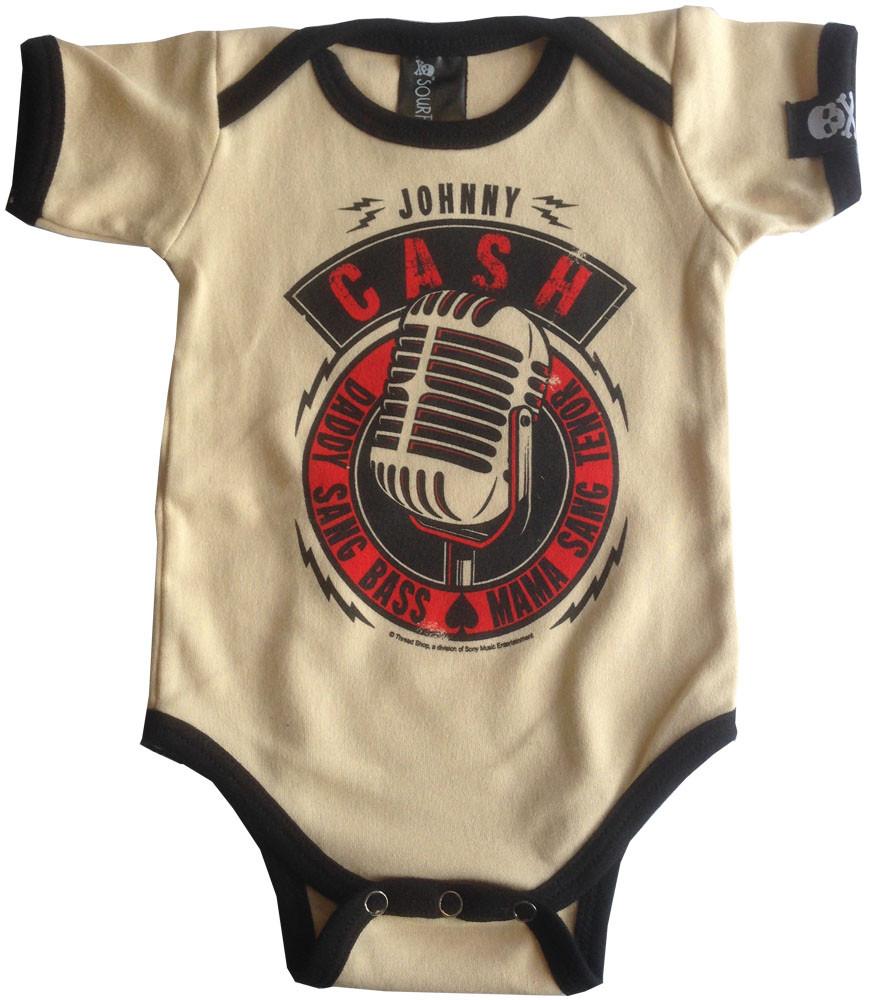 Johnny Cash body baby rock metal Daddy Sang Bass