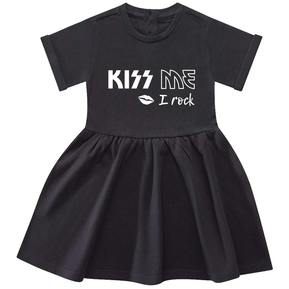 Kiss me I Rock Baby Kleid
