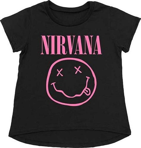 Nirvana Kinder T-Shirt Smiley Pink