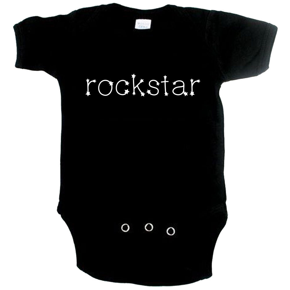 Rock Baby Strampler Rockstar