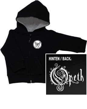 Opeth Logo kinder Sweater/Kapuzenjacke (print on demand)