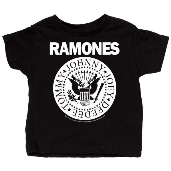 Ramones Baby T-Shirt White Double Logo