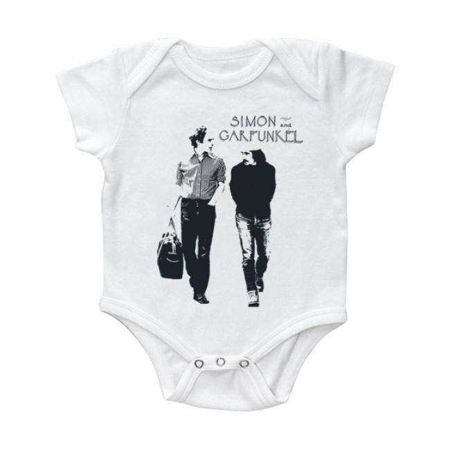 Simon & Garfunkel Baby Body Walking White