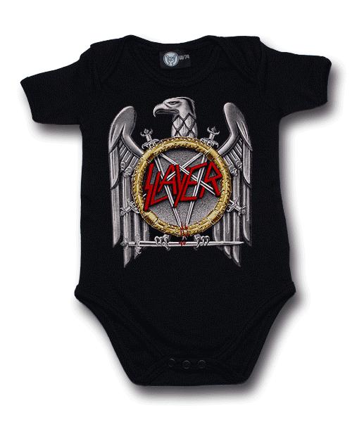 Slayer body baby rock metal Silver Eagle (Metal Kinder/Metal Baby collection)