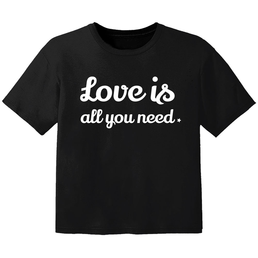cool Baby Shirt love is all you need