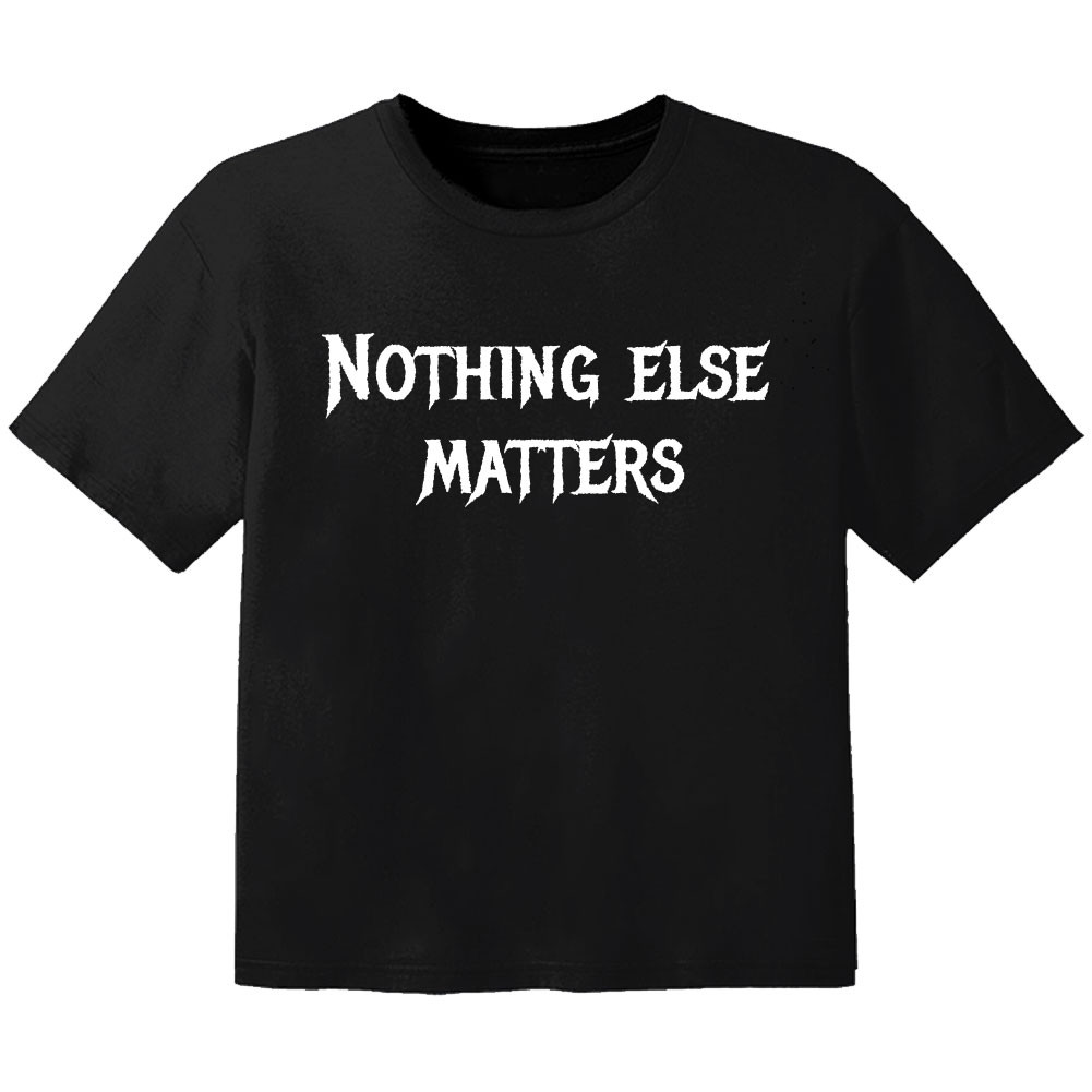 Metal Baby Shirt nothing else matters