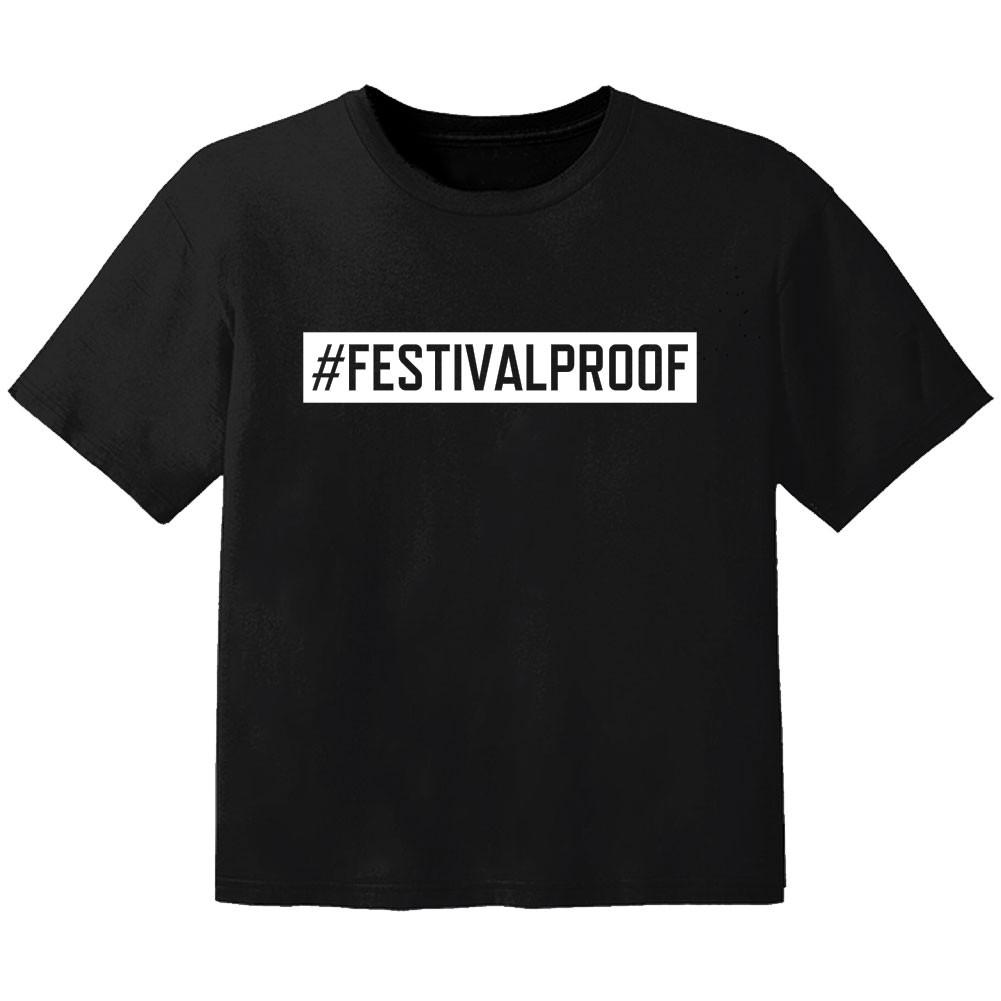 festival Kinder Tshirt #festivalproof