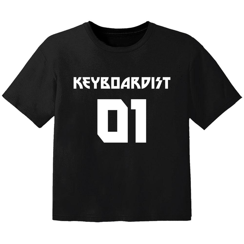 Rock Kinder Tshirt keyboardist 01