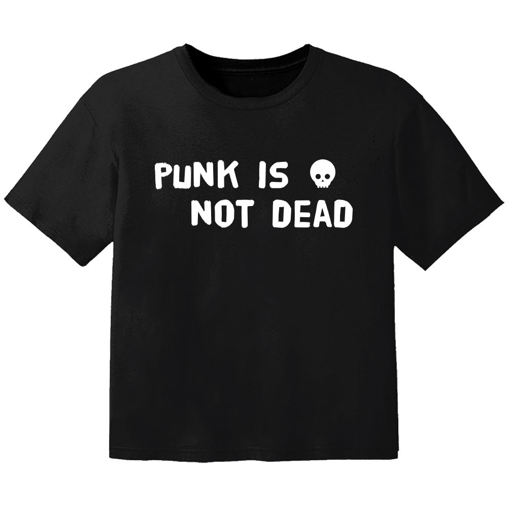Punk Kinder Tshirt Punk is not dead