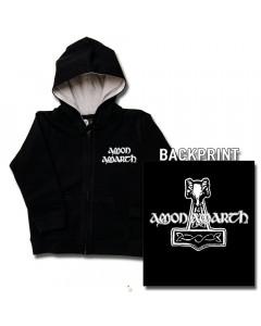 Amon Amarth Thor's Hammer kinder Sweater/Kapuzenjacke (print on demand)