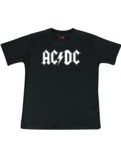ACDC Kinder T-Shirt Logo white ACDC
