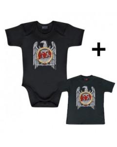 Slayer Baby Body Silver Eagle & Slayer Baby T-shirt Silver Eagle