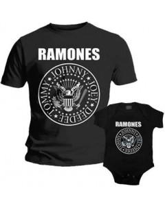 Duo Rockset Ramones Vater-T-shirt & Ramones Baby Body
