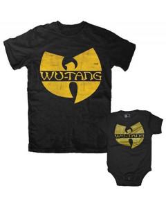 Duo Rockset Wu-Tang Clan Vater-T-shirt & Wu-Tang Clan Baby Body