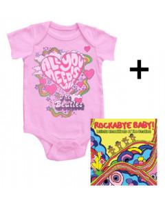 Beatles Baby Body All You Need Is Love & Beatles RockabyeBaby CD