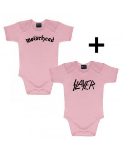 Motörhead Baby Body & Slayer Body Pink