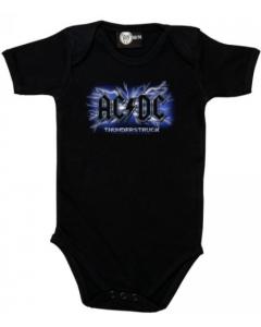 AC DC Strampler Baby Body Thunderstruck