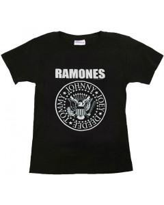 Ramones Shirt Kinder Logo White