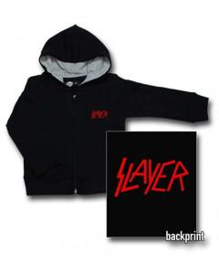 Slayer Logo Red baby Sweater/Kapuzenjacke (Print On Demand)