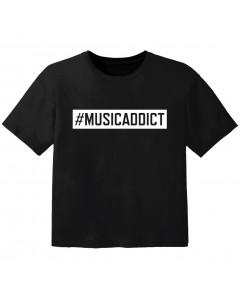 cool Baby Shirt #musicaddict