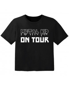 Metal Kinder Tshirt Metal kid on tour
