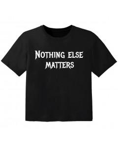 Metal Kinder Tshirt nothing else matters